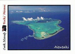 1 AK Cook Islands * Blick Auf Das Atoll Aitutaki Mit Seinen Zahlreichen Inseln - Luftbildaufnahme * - Cook-Inseln