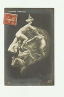 ILLUSTRATEUR - ARCIMBOLDESQUE - L'homme Protée Caricature Avec Femmes Nues De Guillaume II  Bon état - Autres Illustrateurs