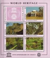 MMA-MMA 08062019 MINT PF/MNH ¤ GUYANA 1984 BLOCK ¤ WORLD HERITAGE - UNESCO - Postzegels