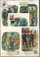 Germany 5 Picture Post Cards With Special Cancels - Post
