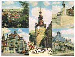Carte Postale Musicale 45 Tours NAMUR  Multivues - Mélodie En F De Rubinstein - Formats Spéciaux