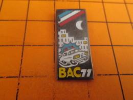815c Pin's Pins / Beau Et Rare / THEME : POLICE / BAC 77 Pour Y Bosser C'est Mieux De Pas L'avoir !!! - Police