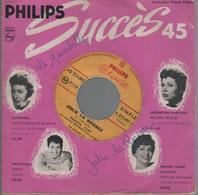 """Disque 45 Tours Succes 45 Philippe Clay """"La Gambille"""" """"Julie La Rousse"""" - Vinyles"""