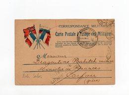 !!! PRIX FIXE : CARTE FM DU 2/5/1918  POUR CORFOU, CACHET POSTES SERBES ET CENSURE - Postmark Collection (Covers)