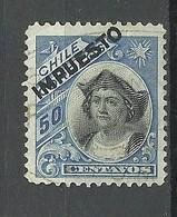 CHILE 1905 Tax Impuesto Revenue Michel 73 With OPT Ch. Columbus O - Chile