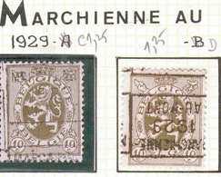OCVB N° 5840    MARCHIENNE 1930 AU-PONT  A & B - Préoblitérés