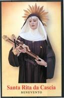 SANTINO - Santa Rita Da Cascia - Santino Con Preghiera, Come Da Scansione. - Images Religieuses