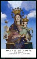 SANTINO - Maria SS. Del Carmine - Santino Con Preghiera, Come Da Scansione. - Santini