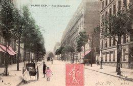 3122 Cpa Paris - Rue Meynadier - Distretto: 19