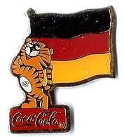 C61 - JO SEOUL'88 - LION Avec DRAPEAU ALLEMAGNE - Sponsor COCA COLA - Verso : GERMANY WEST / C 1985 SLOOC - Coca-Cola
