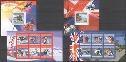 S1014 2010 UNION DES COMORES SPORTS OLYMPIC GAMES 2012 LONDON 2KB+2BL MNH - Estate 2012: London