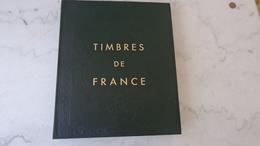 Album Couleur Vert Foncé Yvert Et Tellier France III Avec Les Feuilles FO De 2000 à 2010 . - Albums & Binders