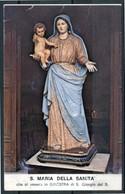 SANTINO - S. Maria Della Sanita' - Santino Con Preghiera, Come Da Scansione. - Santini