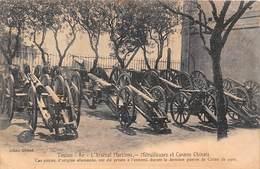 Toulon (83) - L'Arsenal Maritime - Mitrailleuses Et Canons Chinois - Militaire Militaria - Toulon