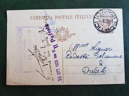 (41228) STORIA POSTALE  ITALIA 1928 - Marcophilie