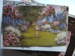 Engeland England Oilette Postcard Flora Pilkington Raphael Tuck - Engeland