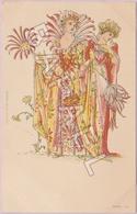 Deux Femmes ''Fleurs'' (Recto-Verso) - Illustrateurs & Photographes