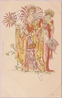 Deux Femmes ''Fleurs'' (Recto-Verso) - Illustratori & Fotografie