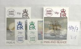1988 MNH Falkland Islands, Postfris** - Falklandeilanden