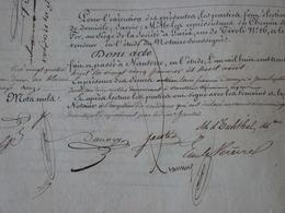 Rarissime! Contrat Manuscrit Chemin De Fer De Paris à Saint Germain 1838 Nanterre Rueil Autographe Train PLM - Historische Documenten