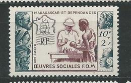 MADADASCAR  N°  320  **  TB  2 - Madagaskar (1889-1960)