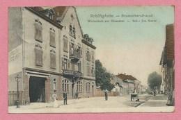 67 - SCHILTIGHEIM - Brumatherstrasse - Wirtschaft Zur Giesserei - Jos. GOETZ - Schiltigheim