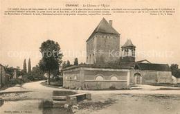 Kq37133 Cravant Les Coteaux Chateau Eglise Cravant Les Coteaux - Non Classés
