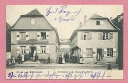 67 - GRUSS Aus SCHILTIGHEIM - Wirtschaft Zum Schwarzen Bären - Schiltigheim