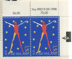 PIA - FINLANDIA - 1999  :  Presidenza Finlandese Dell' Unione Europea -  (Yv 1449 X 2) - Nuovi