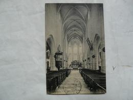 CPA 89 YONNE - NOYERS SUR SEREIN : Intérieur De L'Eglise - Noyers Sur Serein
