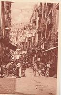Cartolina - Postcard /  Viaggiata - Sent /  Napoli, Via Caratteristica. - Napoli