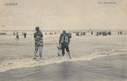 Ostende Les Sauveteurs Nels No 12 1907 Maitre Nageur - Oostende