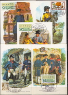 Germany 9 Picture Post Cards With Special Cancels - Post