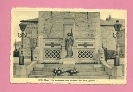 C.P. Ciney = Le  Monument  Aux  Victimes  Des  Deux  Guerres - Ciney