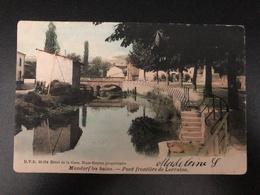 Mondorf-les -Bains * 1904 Pont Frontière De La Lorraine - Grenzbrücke Von Lothringen - Mondorf-les-Bains