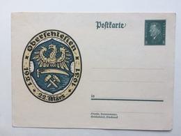 Germany 1931 Postcard Mi P190 - Oberschlesien - Alemania