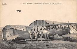 18.n°58878.avord.ecole Militaire D'aviation.rentrée D'un Caudron - Avord