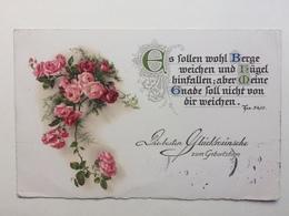 Germany 1931 Birthday Postcard Sent To England - Birthday
