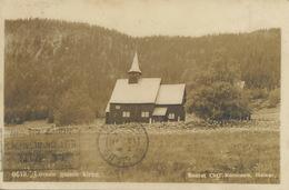 Lomen Gamle Kirke  Carl Normann Hamar P. Used Eidfjord - Norwegen