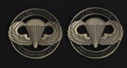 MEDAIILE U.S PARATROOPER . AIRBORNE PROUO . - Other