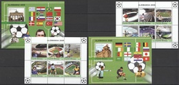 C1041 2004 GUINE-BISSAU SPORT FOOTBALL GERMANY ALEMANHA 2006 2KB+2BL MNH - Coppa Del Mondo