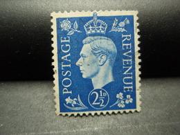 TIMBRE POSTAGE REVENUE 2 1/2 D 1937 Royaume-Uni, Oblitéré - Autres - Europe