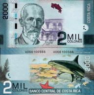 Costa Rica 2015 - 2000 Colones - Pick 275 UNC - Costa Rica