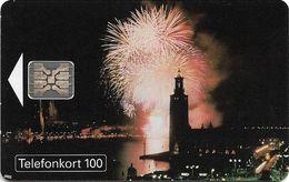 Sweden - Telia - Stockholm Water Festival 1993 - 100U, SC5, (Cn. 00311), 06.1993, 50.000ex, Used - Sweden