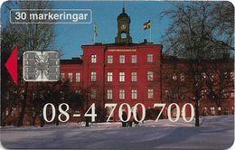 Sweden - Telia - TRC Tomtebodaskolans Center - 03.1994, 7.000ex, Used - Sweden