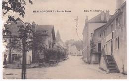25 Doubs - HERIMONCOURT -  Rue Des Ecoles  - Bord Rongé - France