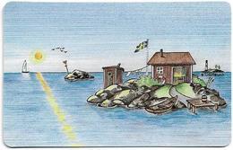 Sweden - Tele2 - Idyll I Sol, 15.08.1995, 24.000ex, Remote Mem. Used - Sweden