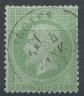 Lot N°48986  N°35, Oblit Cachet à Date De Troyes, Aube (9) Du 4 Janv 1872 - 1862 Napoléon III