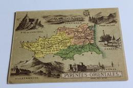 Département -pyrénnées Orientales- Librairie Nachette - Otros