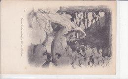 Femme Arabe Meulant Le Blé. Non écrite. Dos 1900. TBE - Szenen